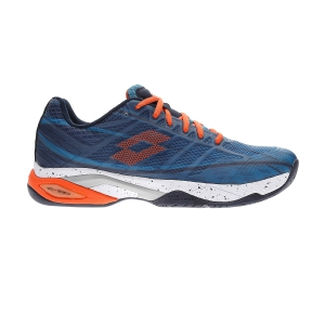 Men`s Tennis Shoes Lotto Mirage 300 Speed  Mosaic Blue/Red Orange/Navy Blue 21073458K