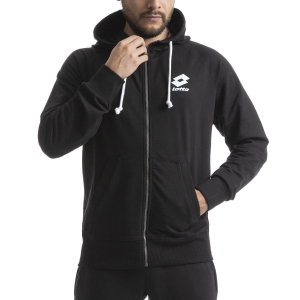 Men's Tennis Shirts and Hoodies Lotto Smart Hoodie  All Black L585821CL