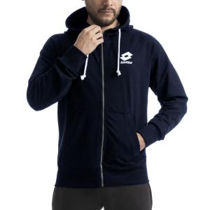 Men's Tennis Shirts and Hoodies Lotto Smart Fleece   Navy Blue L585821CI