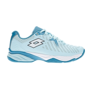 Calzado Tenis Mujer Lotto Space 400 All Round  Clearwater/All White/Mosaic Blue 21074258Y