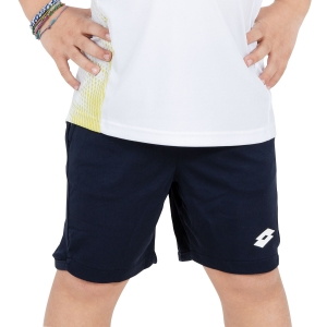 Tennis Shorts and Pants for Boys Lotto Boy Teams 5.5in Shorts  Navy/White 2103821CI
