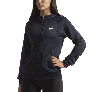 Women's Tennis Shirts and Hoodies Lotto Teams Hoodie  Navy Blue 2103961CI