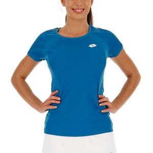 Women`s Tennis T-Shirts and Polos Lotto Teams TShirt  Mosaic Blue 21039326P