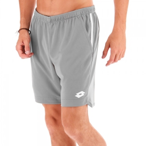 Men's Tennis Shorts Lotto Teams 7in Shorts  Grey 2103771CH