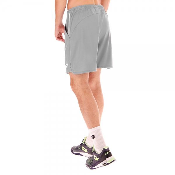 Lotto Teams 7in Shorts - Grey