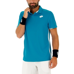 Polo Tennis Uomo Lotto Teams Polo  Mosaic Blue 21037626P