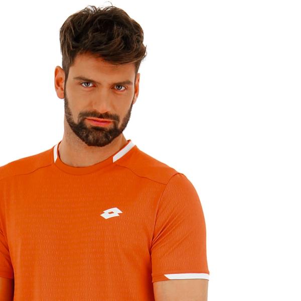 Lotto Tennis Tech Camiseta - Red Orange