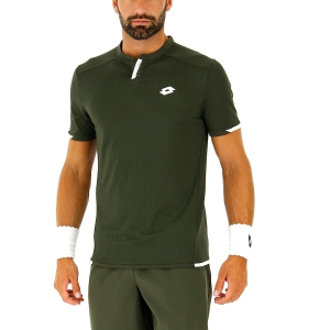 Polo Tennis Uomo Lotto Tennis Tech Polo  Green Resin 21036926O