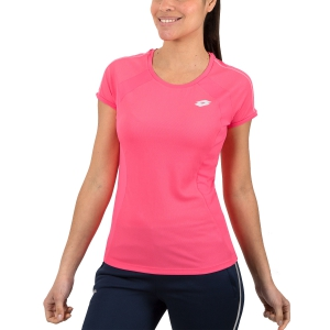 Women`s Tennis T-Shirts and Polos Lotto Teams TShirt  Pink 2103931CQ