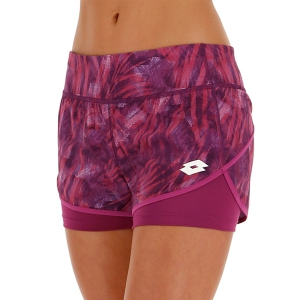 Gonne e Pantaloncini Tennis Lotto Top Printed 3in Pantaloncini  Purple Willow 21125226M