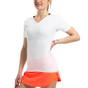 Tennis Women's Underwear Mico Skintech Light TShirt  White IN 1805 001