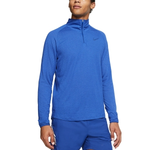 Men's Tennis Shirts and Hoodies Nike Court Challenger Shirt  Indigo Force AA2067438