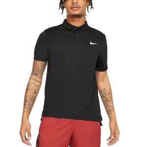 Men's Tennis Polo Nike Dry Team Polo  Black/White 939137010
