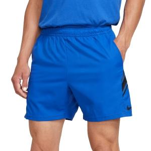 Pantaloncini Tennis Uomo Nike Court Dry 7in Pantaloncini  Game Royal/Black 939273480