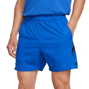 Men's Tennis Shorts Nike Court Dry 7in Shorts  Game Royal/Black 939273480