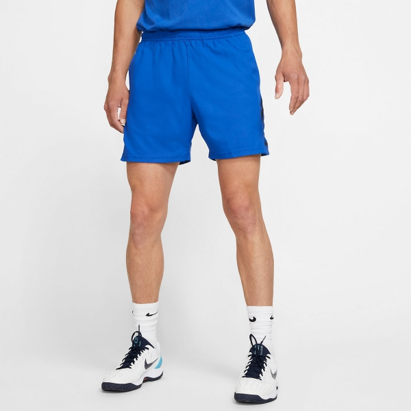 Nike Court Dry 7in Shorts - Game Royal/Black