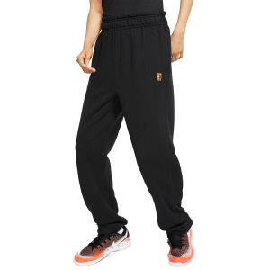 Women's Tennis Pants and Tights Nike Heritage Pants  Black/White BV1061010