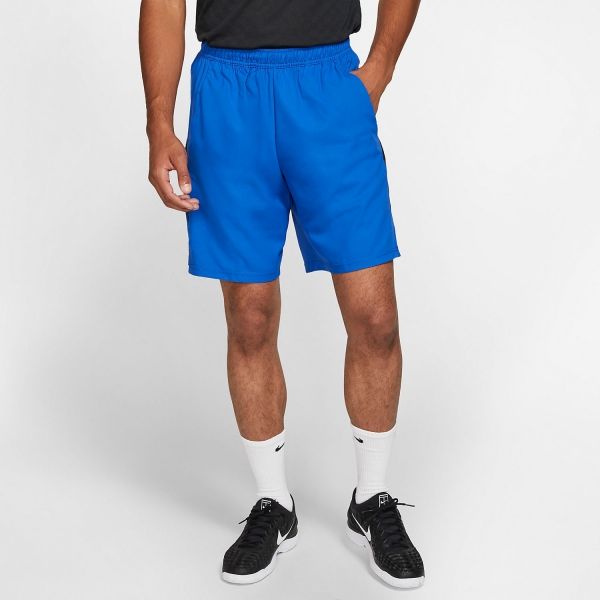 Nike Court Dry 9in Shorts - Game Royal/Black