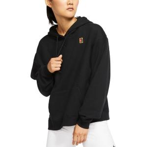 Women's Tennis Shirts and Hoodies Nike Heritage Hoodie  Black AV0766010
