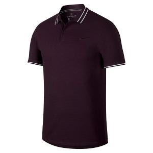 Men's Tennis Polo Nike Court Advantage Polo  Dark Purple/White AJ8110659