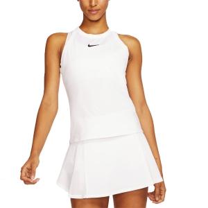 Women`s Tennis Tanks Nike Court DriFIT Tank  White/Black AT8983100