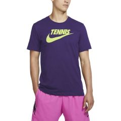 Nike Nike Court DriFIT Camiseta  Court Purple/Volt  Court Purple/Volt CJ0429547