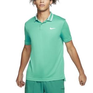Men's Tennis Polo Nike Court DriFIT Polo  Neptune Green/White BV1194370