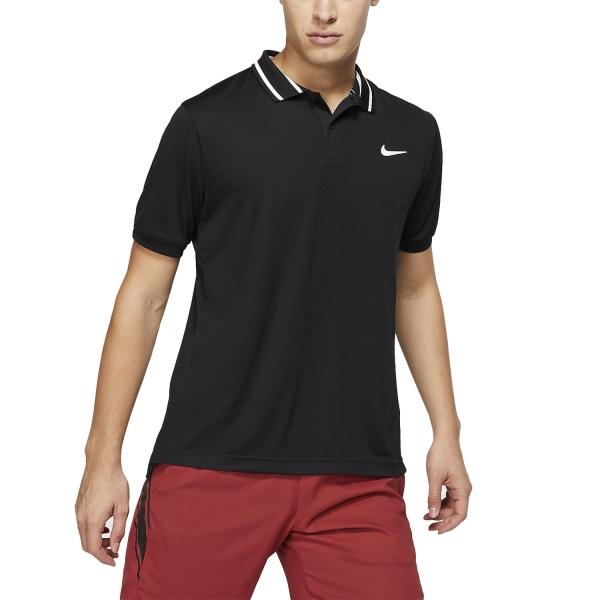 53d23eb5a8 Nike Court Dri-FIT Men's Tennis Polo - Black/White