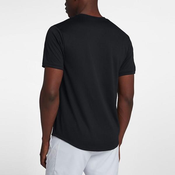 Nike Court Dry T-Shirt - Black/White