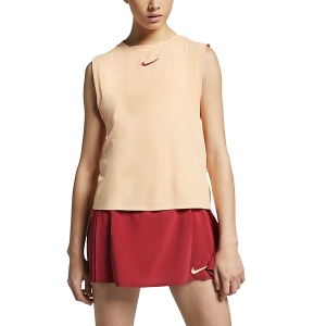 Women`s Tennis Tanks Nike Court Dry Maria Tank  Peach AO0373885