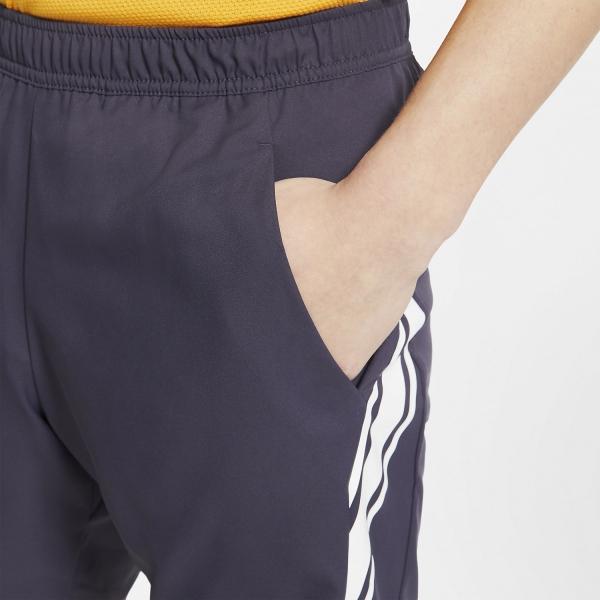 Nike Court Dry 9in Shorts - Gridiron/White