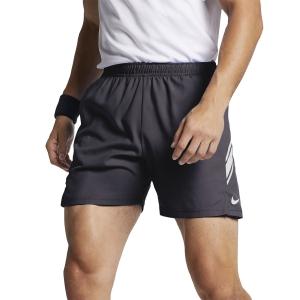 Pantaloncini Tennis Uomo Nike Court Dry 7in Pantaloncini  Gridiron/White 939273015