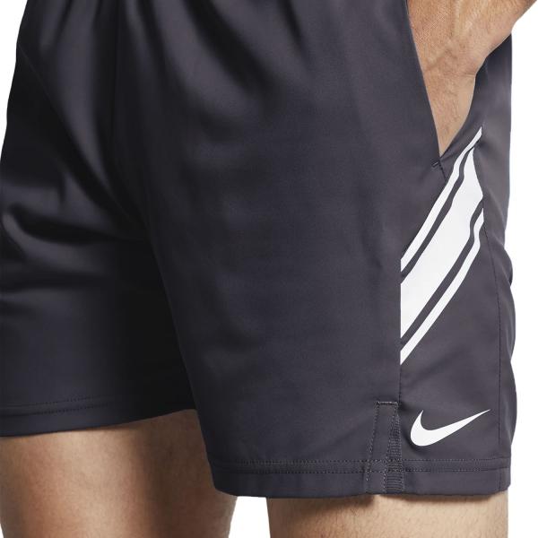 Nike Court Dry 7in Shorts - Gridiron/White