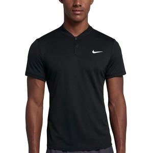 Men's Tennis Polo Nike Court Dry Polo  Black AQ7732010
