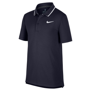 Polos y Camisetas de Tenis Nike Boy Court Dry Team Polo  Navy BQ8792451