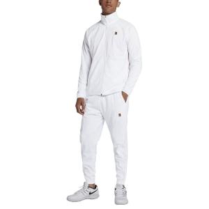 Tute Tennis Uomo Nike Court Essential Warm Up Suite  White 934205100