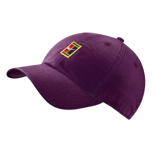 Tennis Hats and Visors Nike Court Heritage 86 Cap  Bordeaux 852184609
