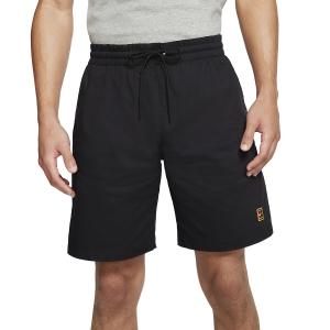 Men's Tennis Shorts Nike Court Heritage 7in Shorts  Black BV0762010