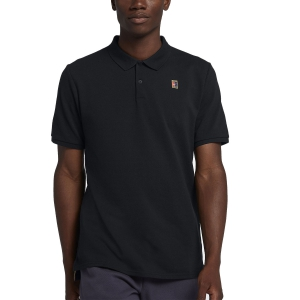 Polo Tennis Uomo Nike Court Heritage Polo  Black 934656011