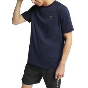 Men's Tennis Shirts Nike Court TShirt  Navy BV5809451
