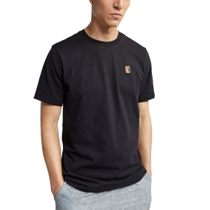 Men's Tennis Shirts Nike Court TShirt  Black BV5809010