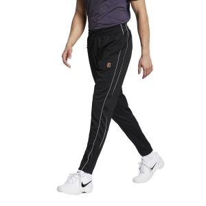 Pantaloni Tennis Uomo Nike Court Pants  Black/White BV1091010