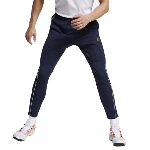 Men's Tennis Pants Nike Court Pants  Navy/White BV1091451
