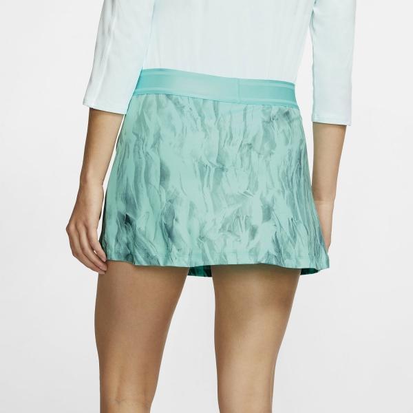 Nike Court Printed Skirt - Light Aqua