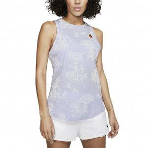 Women`s Tennis Tanks Nike Court Seasonal Tank  Oxigen Purple/Multi Color AR6232508