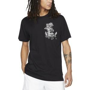 Camisetas de Tenis Hombre Nike Court Seasonal Camiseta  Black/Sail AR5717010
