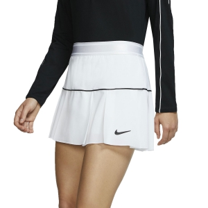 Gonne e Pantaloncini Tennis Nike Court Victory Gonna  White/Black AT5724100