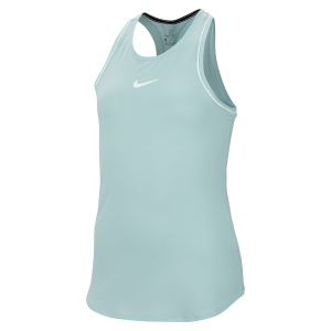 Top and Shirts Girl Nike Girl Dry Tank  Aqua Green AR2501336
