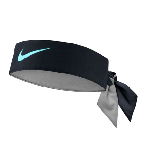 Tennis Head and Wristbands Nike Dry Headband  Gridiron/Light Aqua N.000.3204.049