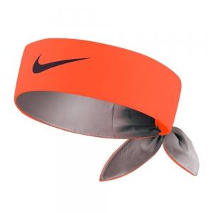Tennis Head and Wristbands Nike Tenis Headband  Fluo Orange/Grey N.TN.00.814.OS